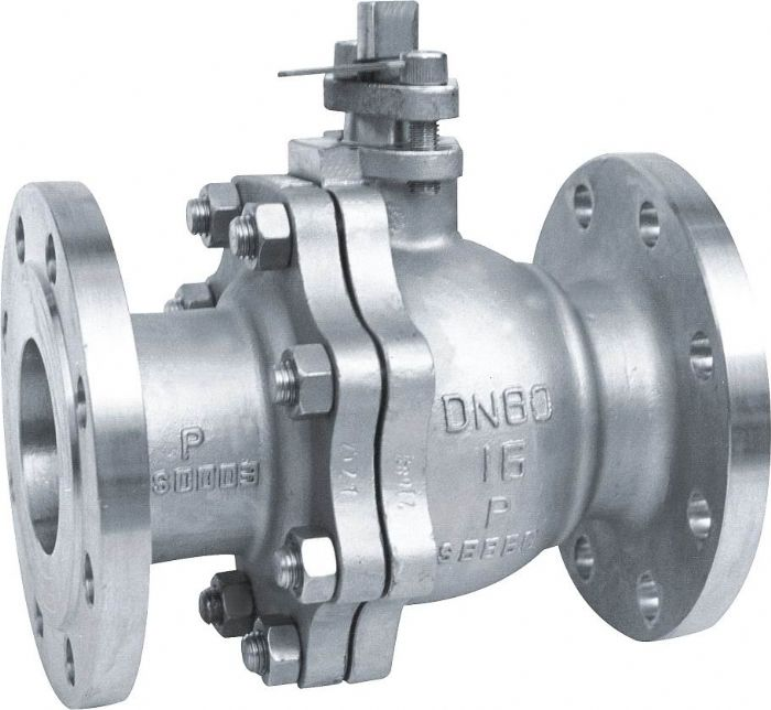 2 PCS Floating ball valve